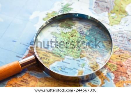 France travel destination - stock photo