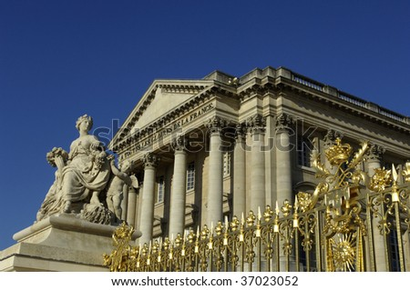 France, Versailles palace
