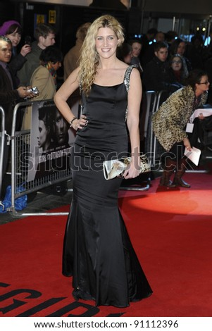 "Francesca Hull arriving for the premiere of ""The Girl with The Dragon Tattoo"" at the Odeon Leicester Square, London. 13/12/2011. Picture by: Steve Vas / Featureflash"