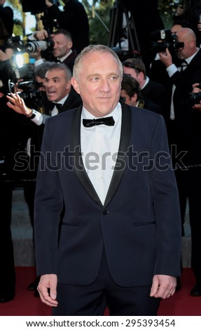 Francois Henri Pinault attend the 'Carol' premiere during the 68th annual Cannes Film Festival on May 17, 2015 in Cannes, France. - stock photo