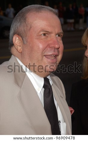 FRANK SINATRA JR. at the Los Angeles premiere of The Manchurian Candidate. July 22, 2004