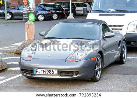 Porsche Cabrio Stock Images Royalty Free Images