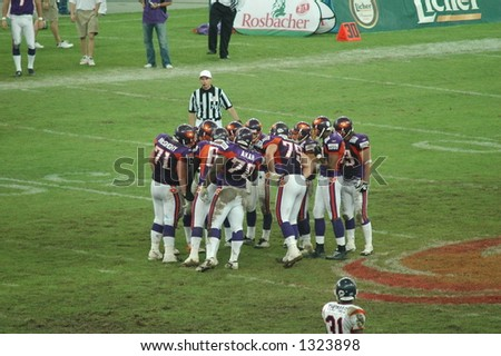 Frankfurt Galaxy players