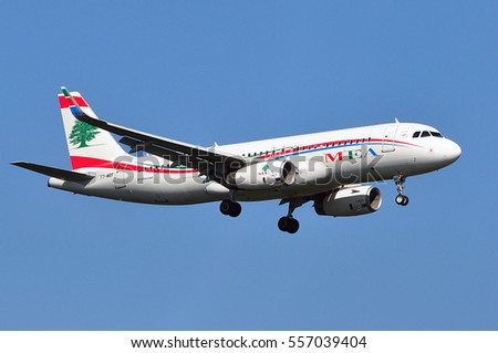 Frankfurtgermanymay 05airbus a320 middle east airlines - China eastern airlines bangkok office ...