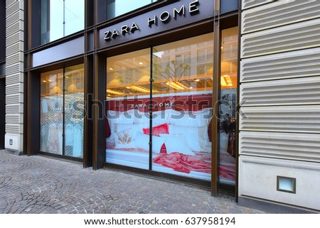Lithuania nov 04 zara store on stock photo 517370956 for Fashion for home frankfurt