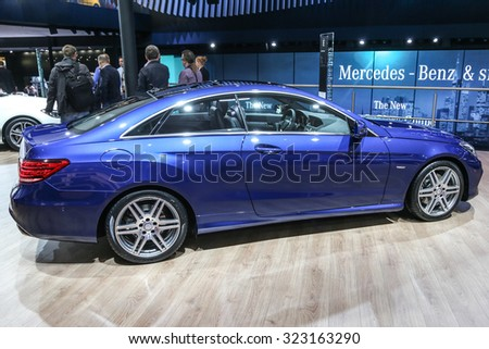 FRANKFURT - SEPT 15: CARNAME shown at the 66th IAA (Internationale Automobil Ausstellung) on September 15, 2015 in Frankfurt, Germany.