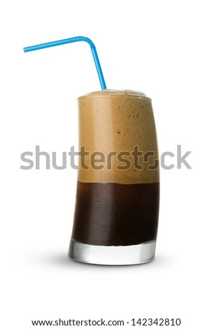 Frappe Coffee - stock photo