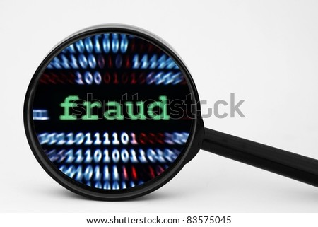 Fraud - stock photo