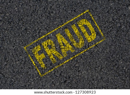 Fraud background