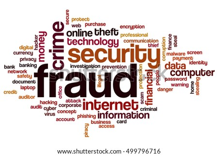Fraud word cloud concept tags related stock illustration 499796716 fraud word cloud concept tags related to fraud security and crime fraud isolated on reheart Images