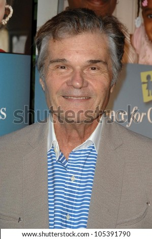 Fred Willard at Alliance For Children's Rights' 2nd Annual 'Dinner With Friends'. Private Residence, Los Angeles, CA. 06-02-09 - stock photo