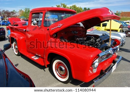 1954 Ford F100 Stock Photos Images Pictures Shutterstock