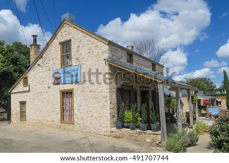 fredericksburg texas september 24 2016 farmhouse boutique in a historic home constructed out - Limestone Home 2016