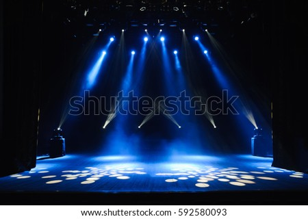 Free stage with lights lighting devices. & Stage Light Stock Images Royalty-Free Images u0026 Vectors | Shutterstock azcodes.com