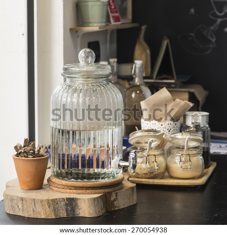free water - stock photo