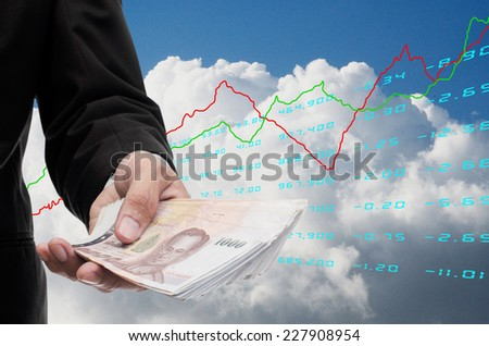 Freedom to invest concept - stock photo