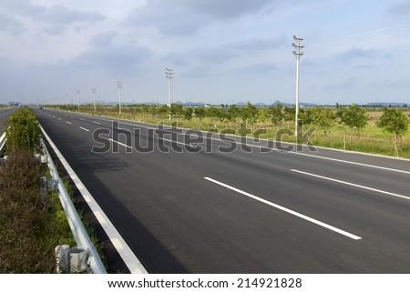 Freeway  - stock photo
