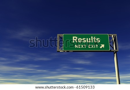 Freeway Sign - Results!