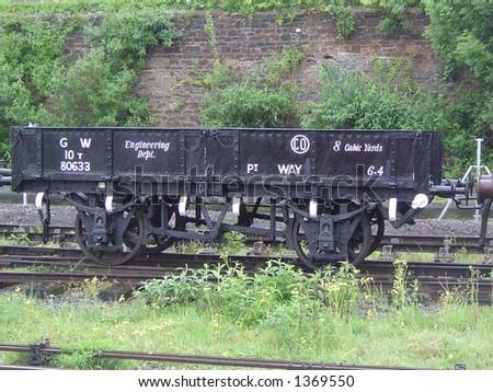 Freight Carriage - stock photo