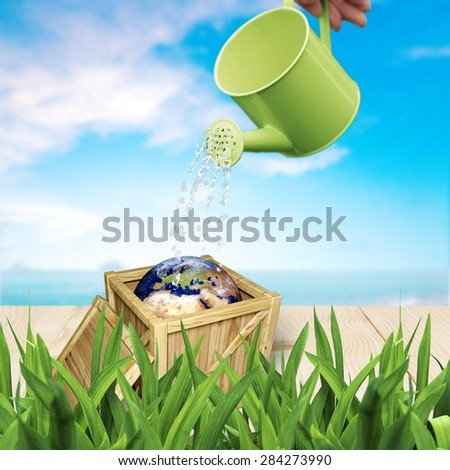 Freight Transportation, Box, Cargo Container. - stock photo