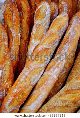 French Bread 2 - stock photo