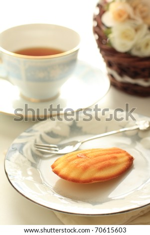 French confectionery and English tea