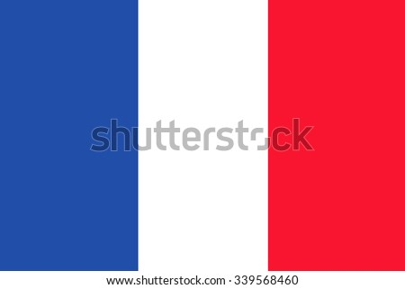 French flag  - stock photo
