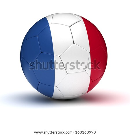 French Football (isolated with clipping path) - stock photo