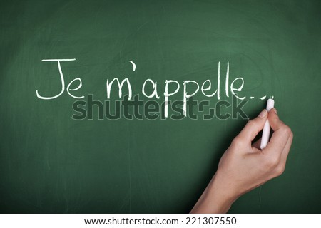 French Lesson - stock photo