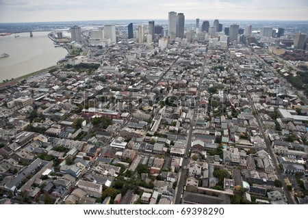 French Quarter, New Orleans, Louisiana - stock photo