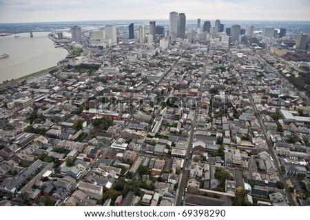 French Quarter, New Orleans, Louisiana - stock photo