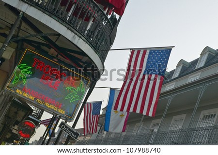 French Quarter of New Orleans, Louisiana