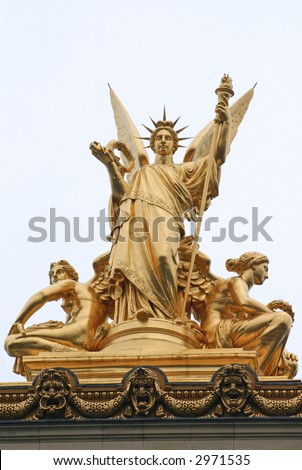 French Statue of Liberty