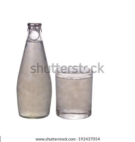 Fresh aloe vera juice  - stock photo