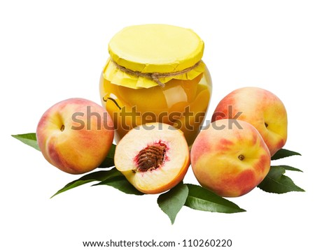 fresh and canned peaches