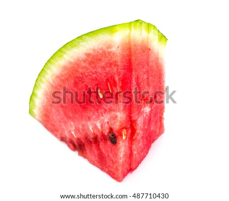 Fresh and Juicy Watermelon Studio Photo