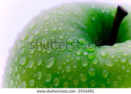Fresh Apple - stock photo