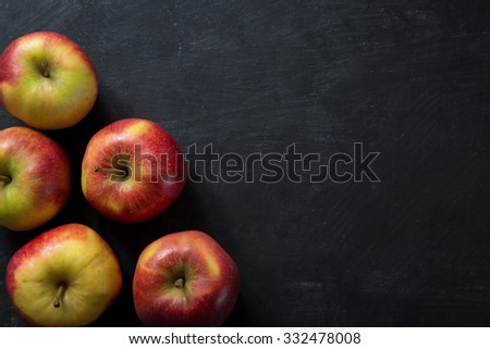 Fresh Apples food concept - stock photo
