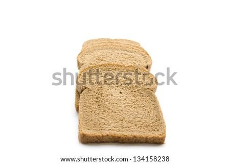 Fresh baked Brown Toast
