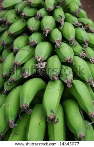 Fresh Bananas - stock photo