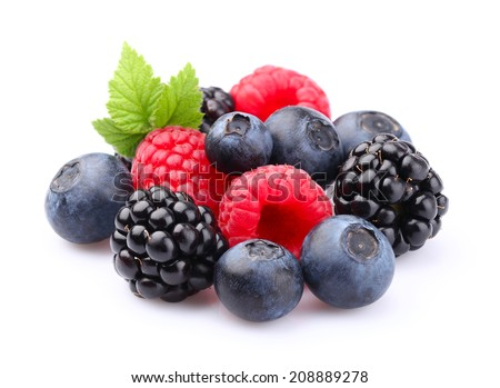 Fresh berry - stock photo