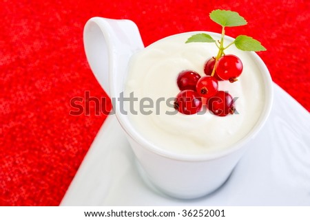 Delicious sweet strawberry soup meringue mint stock photo 204206392 shutterstock - Refreshing dishes yogurt try summer ...
