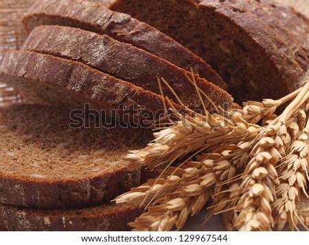 Fresh bread - stock photo