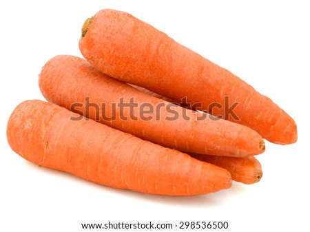 Fresh carrots - stock photo