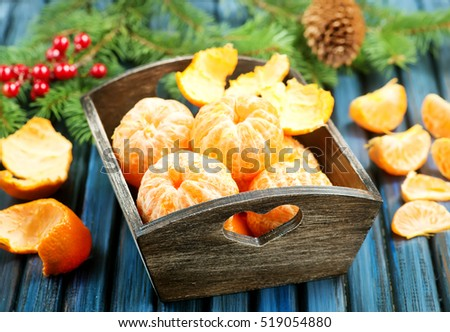 Fresh Clementines or Tangerines