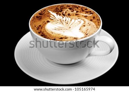 fresh coffee - stock photo