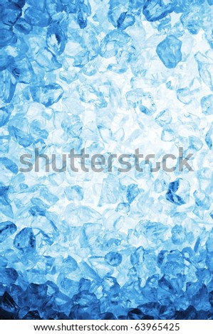 Fresh Cool Ice Cube Background Or Wallpaper For Summer Winter
