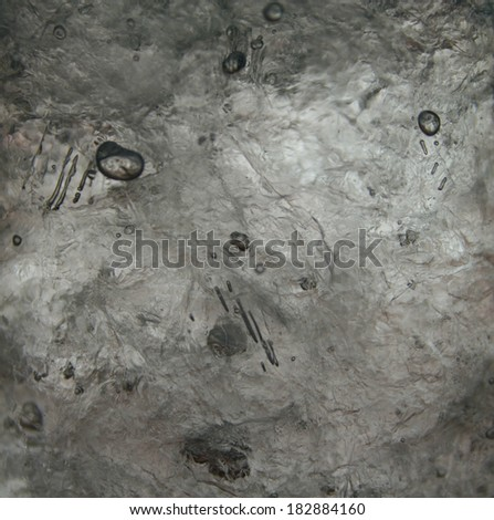 fresh cool ice cube for background - stock photo