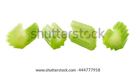 fresh cut celery - stock photo