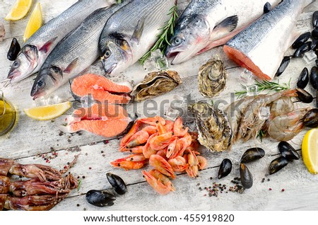 Oyster shell stock images royalty free images vectors for Aromatic herb for fish